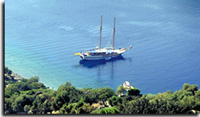 Gulet cruises in bodrum